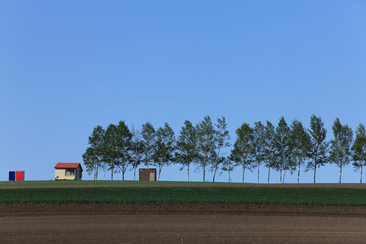 北海道の野付半島の写真