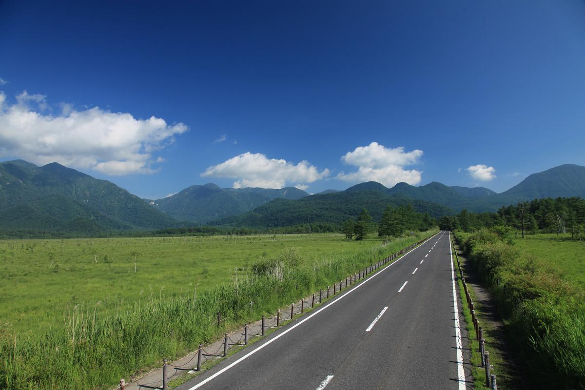 栃木の戦場ヶ原の写真