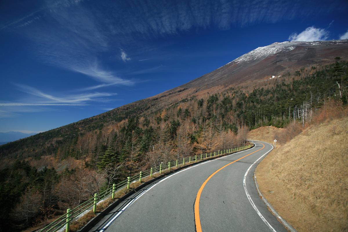 静岡の富士山スカイラインの写真