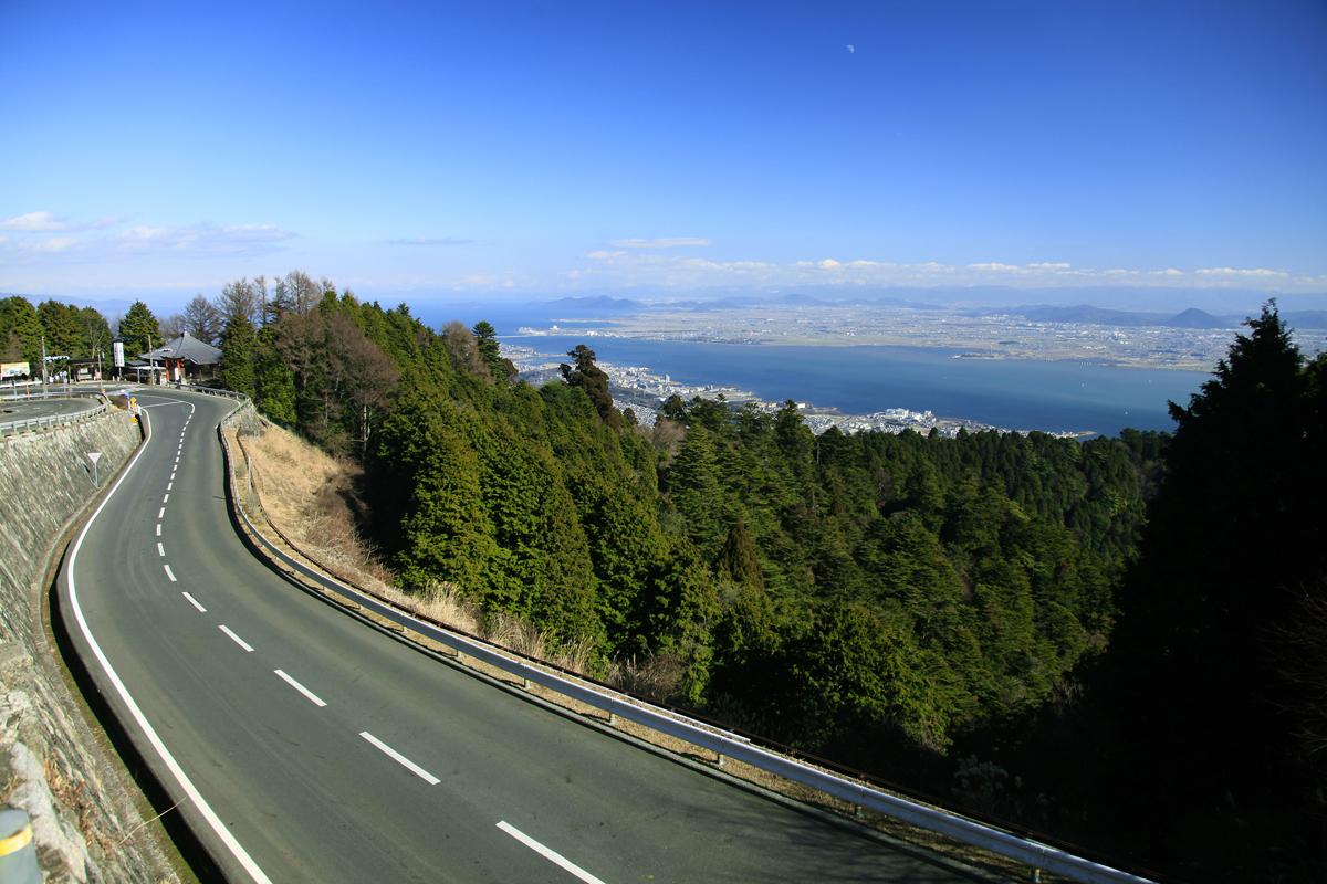滋賀の比叡山ドライブウェイの写真