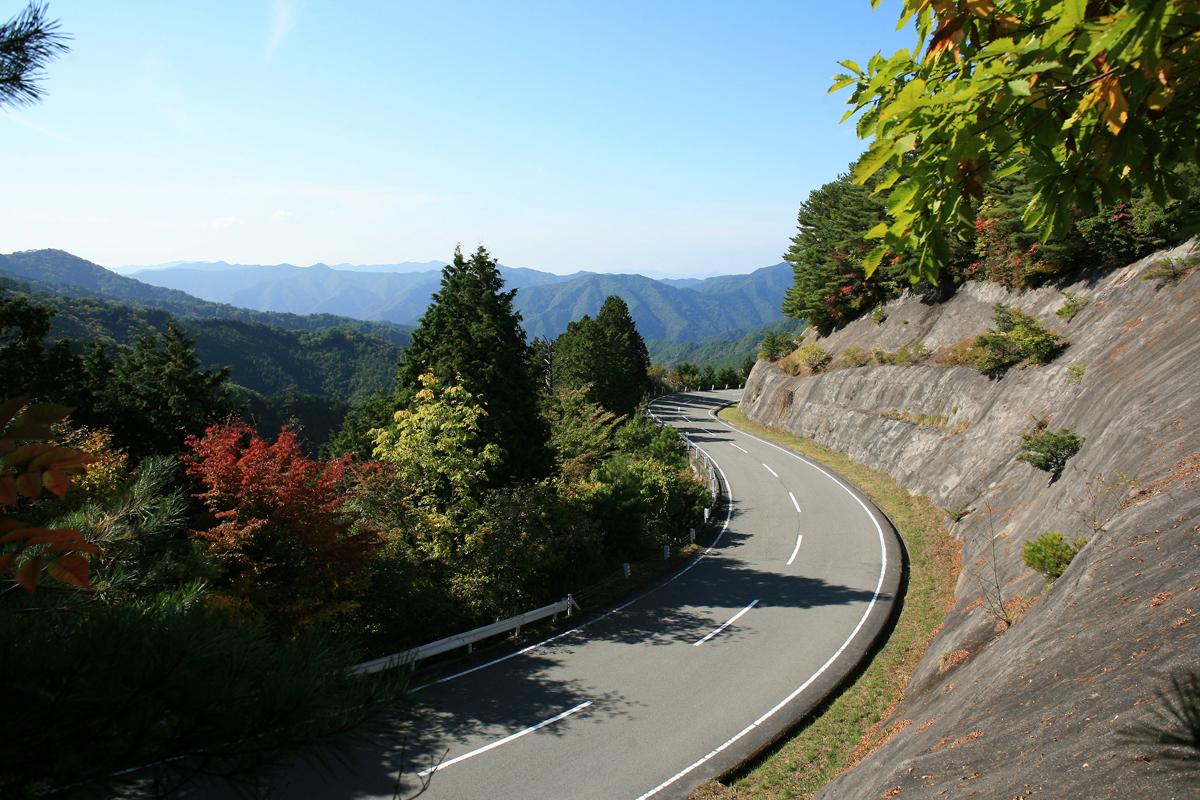 和歌山、奈良の高野龍神スカイラインの写真