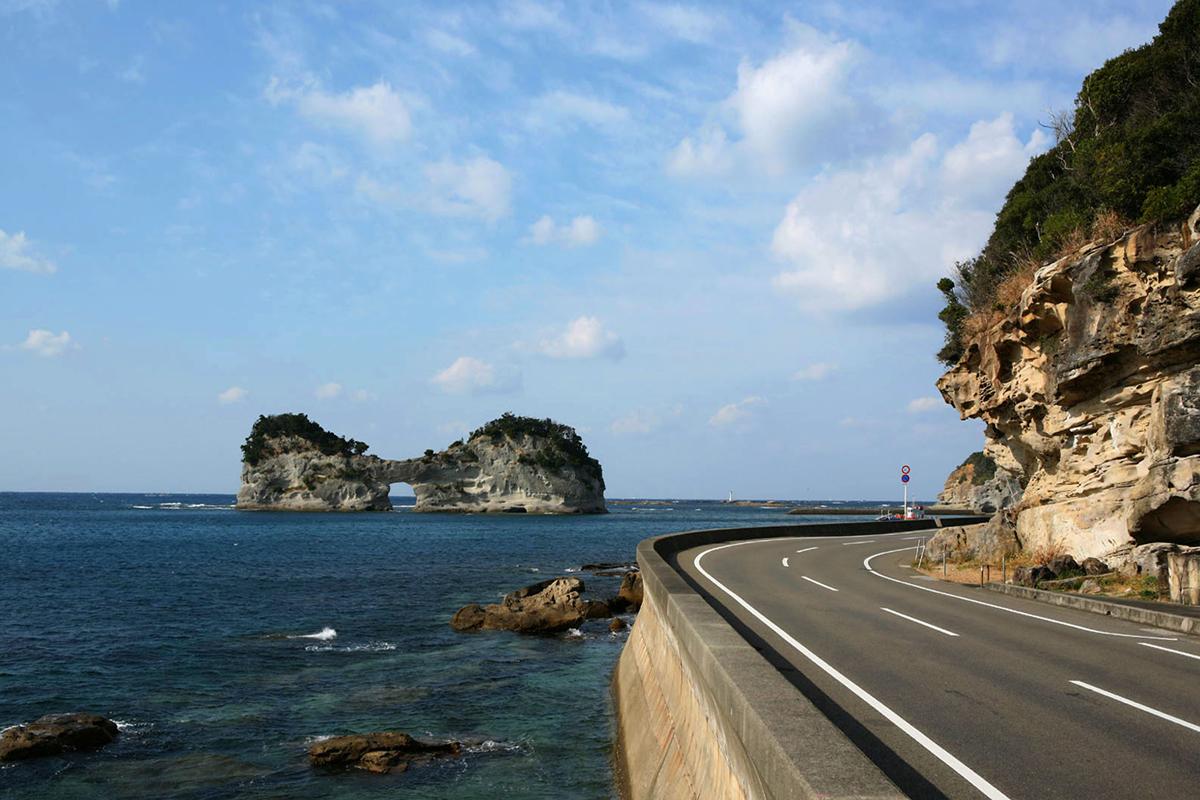 和歌山の円月島の写真