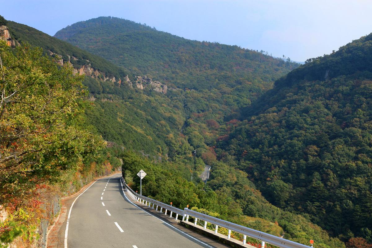 香川の小豆島スカイラインの写真