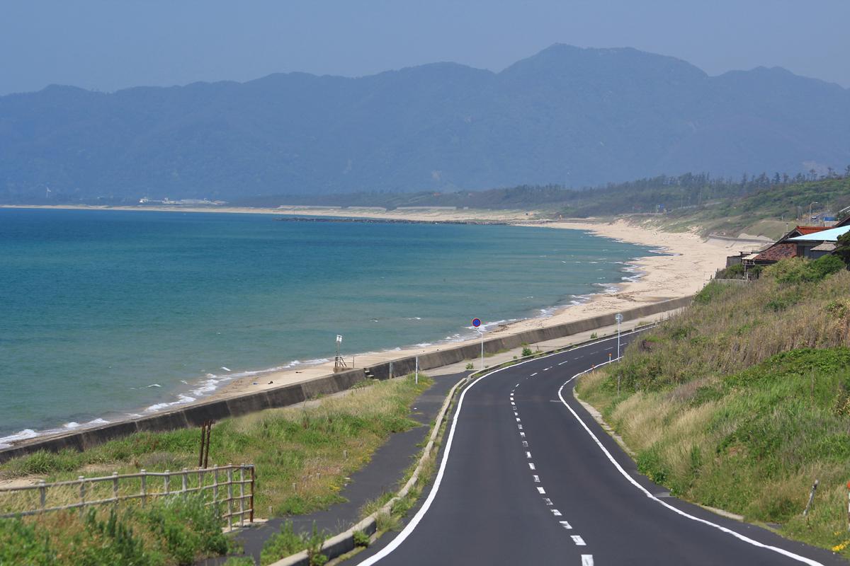 島根のキララビーチラインの写真