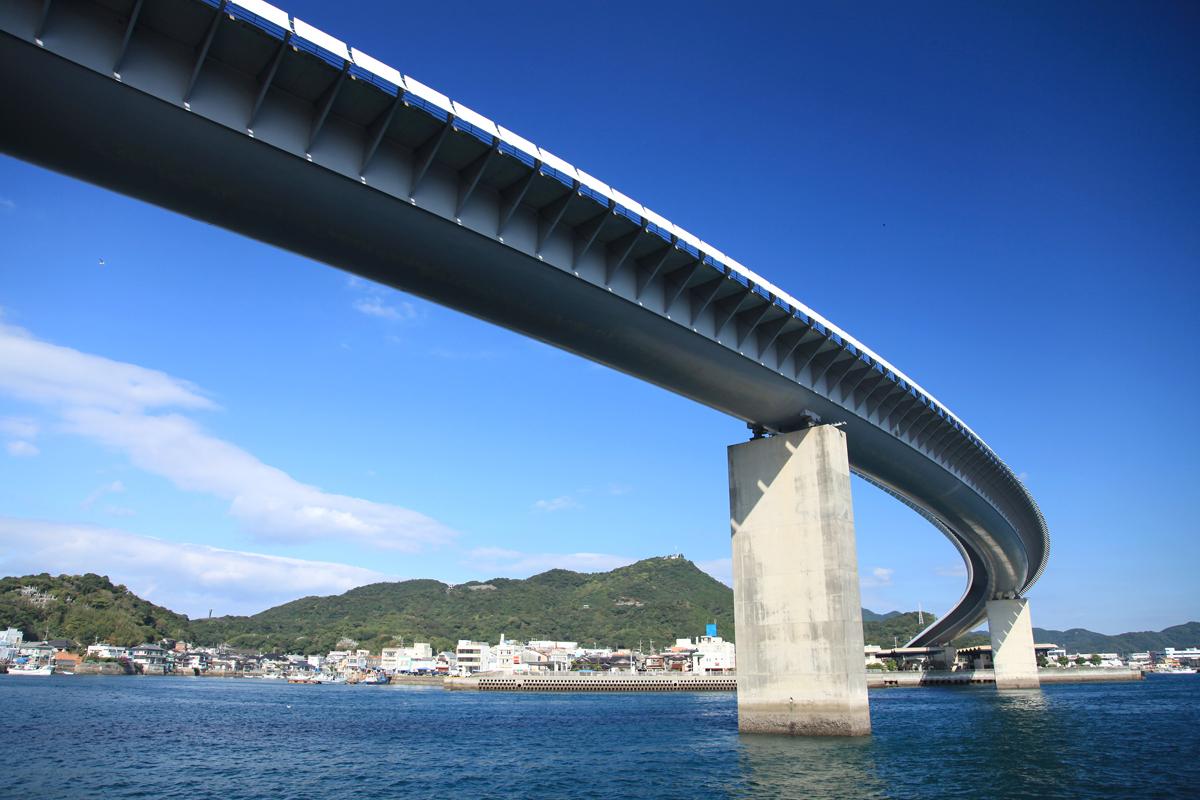熊本の牛深ハイヤ大橋の写真